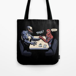 OK, Let's settle this! Tote Bag