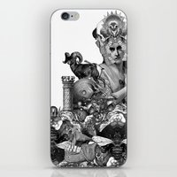 pagan iPhone & iPod Skins featuring PAGAN WICCAN II by DIVIDUS