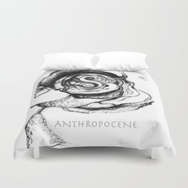 Anthropocene Duvet Cover