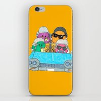 vampire weekend iPhone & iPod Skins featuring Holiday Vampire Weekend by Pily Clix