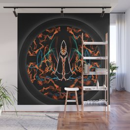 The Harbinger Flame Wall Mural