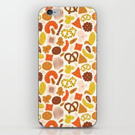 Snacks iPhone Skin