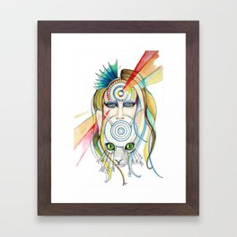 Vision and Silence Framed Art Print