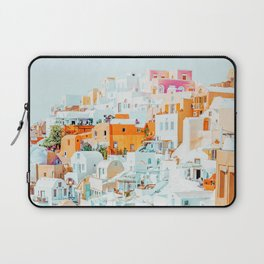 Santorini Vacay #photography #greece #travel Laptop Sleeve