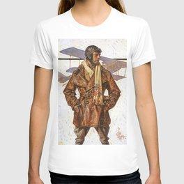 12,000pixel-500dpi - Joseph Christian Leyendecker - Air Force Pilot - Digital Remastered Edition T-shirt