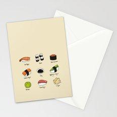 Sushi Days Stationery Cards
