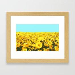 super bloom Framed Art Print