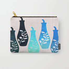 Bottles Abstract 02 Carry-All Pouch