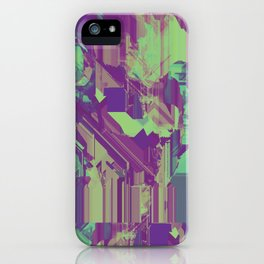 Glitchy 1 iPhone Case