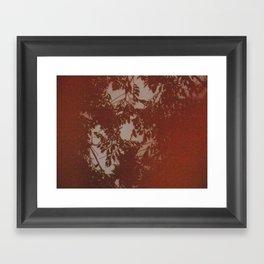 ORANGE FILM Framed Art Print