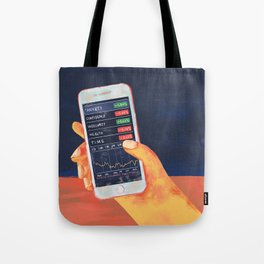 Fluctuating Feelings Tote Bag