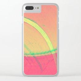 green machine Clear iPhone Case