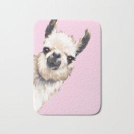 Sneaky Llama Bath Mat