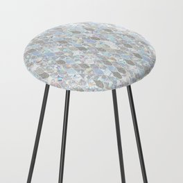 Holographic Mermaid Counter Stool