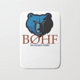 Bears only III Bath Mat
