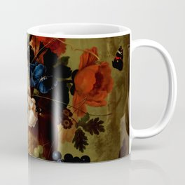 "Jan van Os ""Flowers"" Coffee Mug"