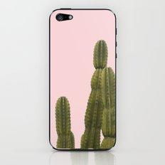 BLUSHING CACTUS iPhone & iPod Skin