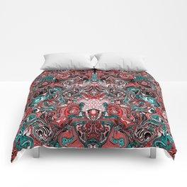 Abstract mess I Comforters