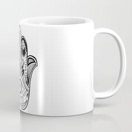 Hamsa Hand Drawn Coffee Mug