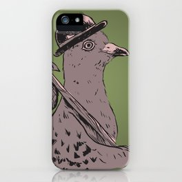 Hobo Pigeon iPhone Case