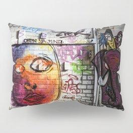 Open Ya Mind! Pillow Sham