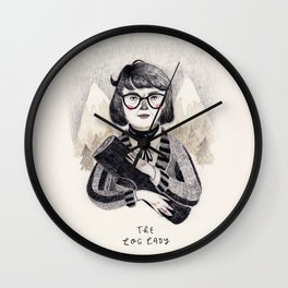 The Log Lady Wall Clock