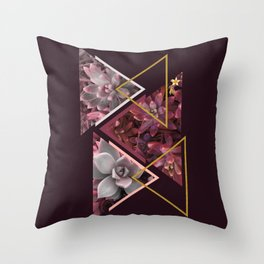 Wine Succulents #society6 #decor #buyart Throw Pillow
