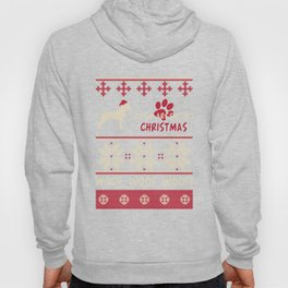 Dogo Argentino christmas gift t-shirt for dog lovers Hoody