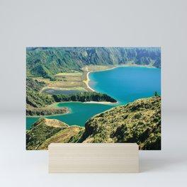 Lagoa do Fogo Mini Art Print