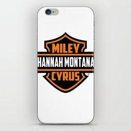 Miley Cyrus Hannah Montana  iPhone Skin