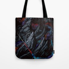 Its a majestic fall into a journey of darkness Tote Bag
