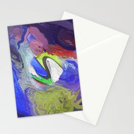 Abstract Mandala 204 Stationery Cards