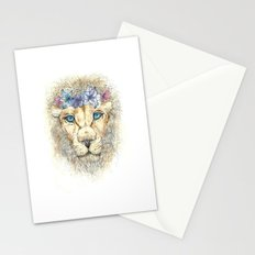 Flower king Stationery Cards