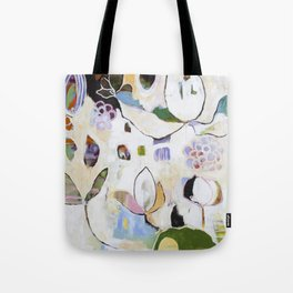 """Letting Go"" Original Painting by Flora Bowley Tote Bag"