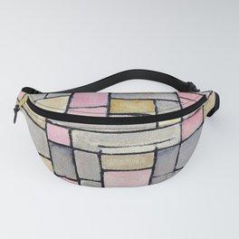 12,000pixel-500dpi - Composition 8 - Piet Mondrian Fanny Pack