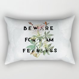 And Therefore Powerful Rectangular Pillow