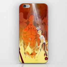 Need for backup? iPhone Skin