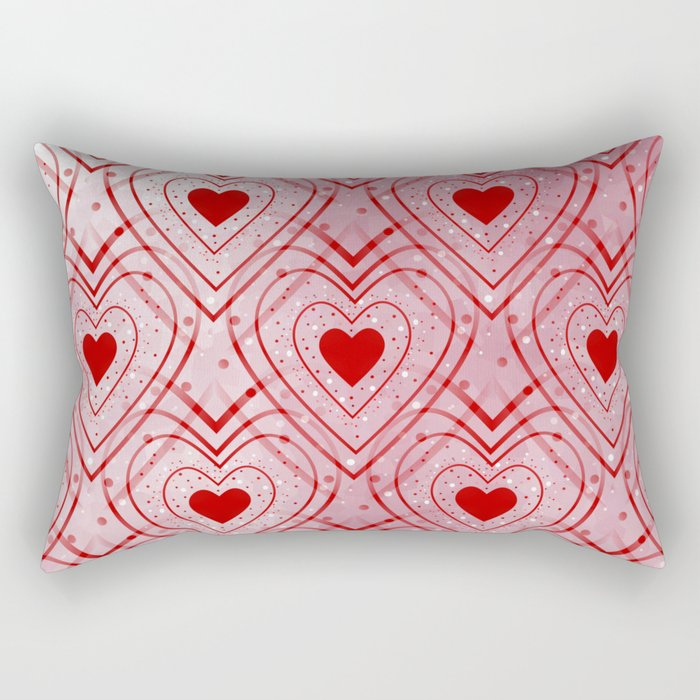 Heartbeat Rectangular Pillow
