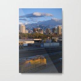 City at Twilight Metal Print