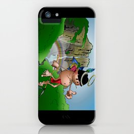 Dos Angeles - Two Angels iPhone Case