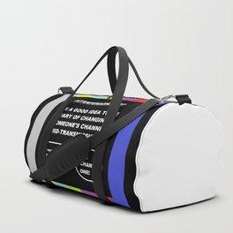 A TV Life Tip #1 Duffle Bag