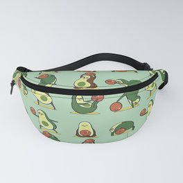 Avocado Yoga With The Seed Fanny Pack