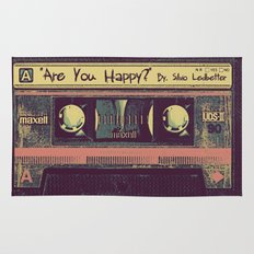 Are You Happy?  |  Cassette Tape Rug