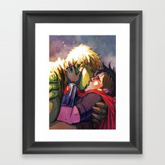 William and Theodore 29 Framed Art Print