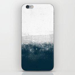 Ocean No. 1 - Minimal ocean sea ombre design  iPhone Skin
