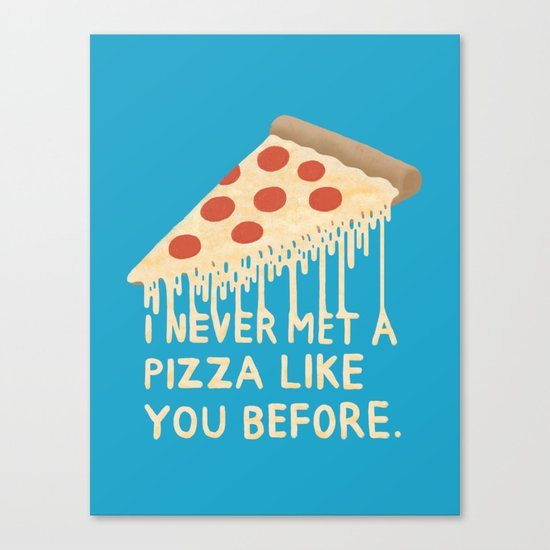 Sweet Pizza Canvas Print