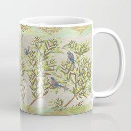 Twittering // birds // gossiping // tree branches Coffee Mug