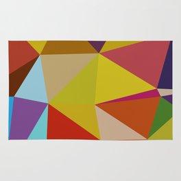 Geometric Abstract Art Pattern Ten Rug