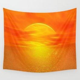 Sonne über dem Meer Wall Tapestry