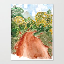 The Road to Rackoko Canvas Print